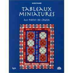 Tapis miniatures au point de croix