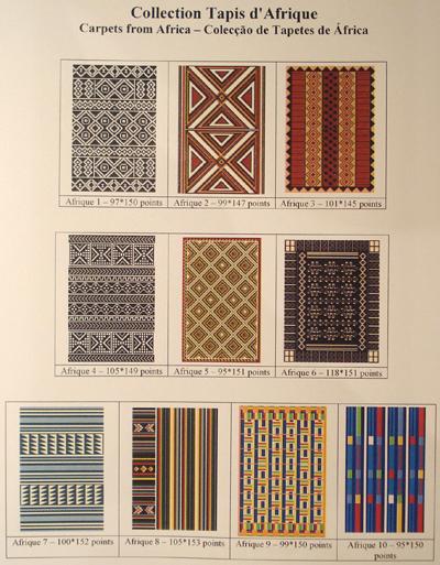 livret tapis afrique. Black Bedroom Furniture Sets. Home Design Ideas