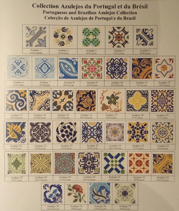 Livret Azulejos Du Bresil Et Du Portugal